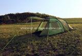 6 شخص أسرة يسافر يطوي خيمة خيمة خارجيّ