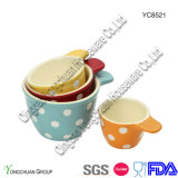 Wholesale di ceramica Measuring Cups Set di 4