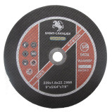 Cortar roda por aço inoxidável 230X1.8X22.2