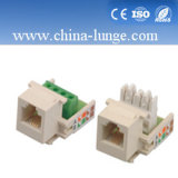 Cat5e Keysone, Cat5e Jack, UTP Fundament Jack