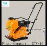 Compresor vibrante Gyp-10 de la placa de la piedra y de la arena