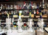 Großhandelsrauchendes Wasser-Glasrohr für Tabak Using