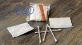 Kit disponible de la vanidad del hotel, brotes del algodón, pistas de algodón