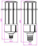 60W el bulbo grande IP64 del maíz del disipador de calor E26 E27 E40 LED impermeabiliza la alta aprobación de la UL de RoHS PSE del Ce del CRI