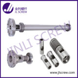 Único Screw Barrel para Plastic Extruder Machine