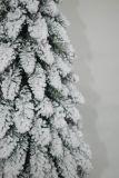 Рождественская елка реалиста искусственная с украшением цвета СИД света шнура Multi (1015)
