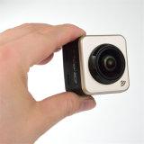 Da câmera larga panorâmico da ação de um ângulo de 360 graus do cubo 360s WiFi o esporte impermeável DV ostenta a câmera