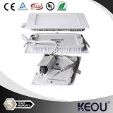 Freies Sample 225X225mm 18W Rectangular LED Panel Light