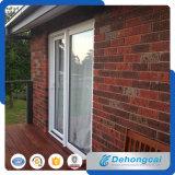 緩和されたガラスが付いている白いプロフィールPVCドア