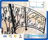 장식적인 실내 분말 입히는 단철 층계 방책/강철 방책
