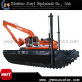 Cer Approved Hydraulic Crawler Excavator mit Spud Pile