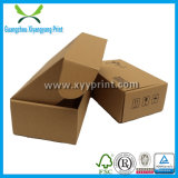 Caixa ondulada feita sob encomenda da caixa de papel que empacota para a sapata do presente