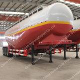 3 반 차축 45m3 공기 압축기와 Desiel 엔진을%s 가진 대량 시멘트 탱크 트레일러