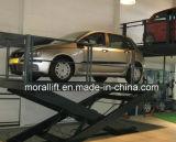 Scissor лифт автомобиля для стоянкы автомобилей гаража