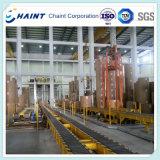 Rollo de papel eslabón de cadena transportadora de la fábrica de papel con el pateador