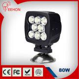 Luz de conducción de 80W LED para camiones, SUV y remolques