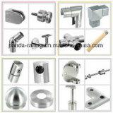 Стеклянный штуцер/Simi-Законченный квадратные поддержка пробки/кронштейн поручня нержавеющей стали