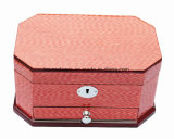 Коробка нот ювелирных изделий деревянной отделки рояля Veneer деревянная