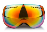 Custom Design Logo Label Lente intercambiável Best Ski Goggles