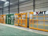 Doubles cabines ou cages ascenseur de levage d'élévateur de construction de gratte-ciel de 0.5-4 tonne pour des matériaux avec Autocontrol