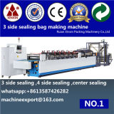 V ist Cut und Banana Punching Matched 3 Side Sealing Bag Making Machine