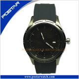 Spécialiste Three-Piece Stainless Steel Watch avec Silicone Band