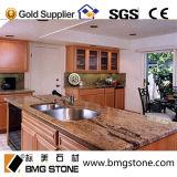Bancada Polished natural do granito para o repouso e o hotel (parte superior da cozinha, bancada da cozinha)