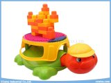 Multifunktionsblock-Spielwaren-musikalischer Schildkröten-Stuhl-pädagogische Spielwaren