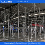 Système d'échafaudage de blocage de boucle pour la construction