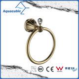 Titular de montaje en pared simple vaso de oro (AA9115)
