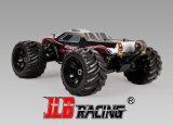 Nuevo 1/10 carro enojado campo a través teledirigido del carro de monstruo 4WD W/ESC R/C