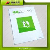 Impression manuelle colorée de magazine de Ganwu