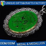 Qualitäts-galvanischer Metallüberzug-Goldmedaille oder -medaillon für Ehre oder Andenken