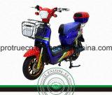 Motocicleta elétrica para carreg dois povos