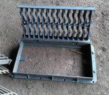 Duktile Eisen-Sinkkasten-Vergitterung-Deckel mit rechteckigen Rahmen