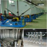 Machine à formage de conduits en spirale pour la fabrication de tuyaux à tube rond