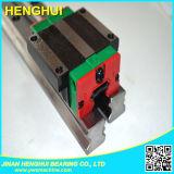 Guía lineal de carril y arrastrando bloque de cojinete Hgw20