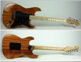 Aiersi полностью гитара твердого Mahogany типа St тела электрическая