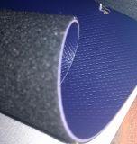 가구, 신발, 부대, 자동차에 의하여를 위한 합성 PVC 물자 가죽 길쌈되는 패턴 의 단화 가죽 PVC 가죽