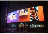 Alta parete esterna di luminosità P10 (P6 P8mm) LED video con installazione fissa in pieno impermeabile