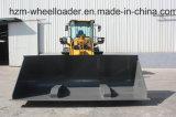 Carregador grande resistente da roda dianteira da capacidade da cubeta 3.8ton de FL300kn Wl300 Hzm 938