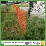 Panneau enduit de frontière de sécurité de jardin de treillis métallique de PVC Anping
