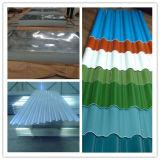 Лист толя стальных продуктов строительного материала PPGI стальной Corrugated