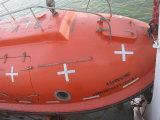 Bateaux de sauvetage de chute libre utilisés par bateaux militaires rapides de bateau de fibre de délivrance de bateau de sauvetage de SOLAS à vendre