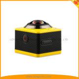 WiFi 30mの防水スポーツDVのカメラが付いている360パノラマ式のカメラ