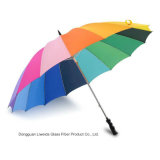 Радуги дела 16k автомобиля зонтик открытой сильной прямой большой