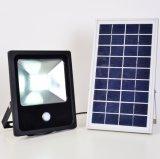20W 30W Flut-Licht der Sonnenenergie-LED mit PIR Fühler