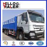 30t Slaeのための重いHOWOのトラック6X4の貨物トラック