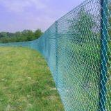 製造の高品質によって電流を通されたチェーン・リンクの塀、PVCはチェーン・リンクの塀に塗った