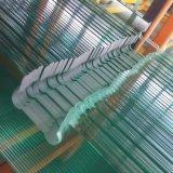 12 mm de alta calidad del color verde de cristal templado para la ventana de construcción